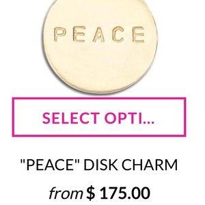 Helen Ficalora Peace 14K charm